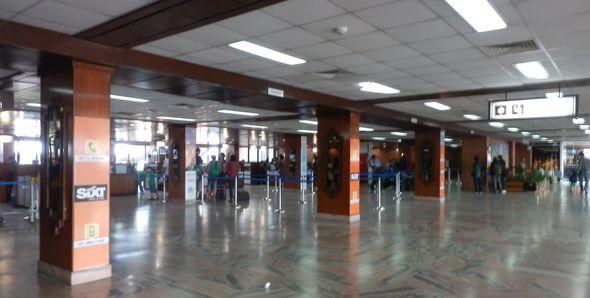 カトマンズ トリブバン国際空港...